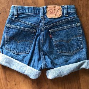 Vintage Levi's 501 shorts